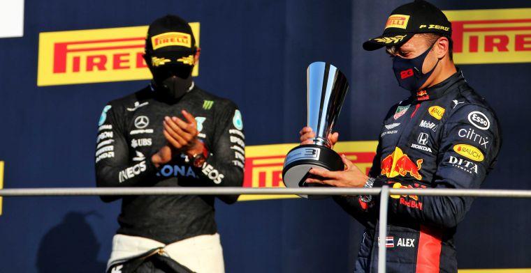 Boost voor Albon: ''Nu samen met Verstappen problemen veroorzaken bij Mercedes''
