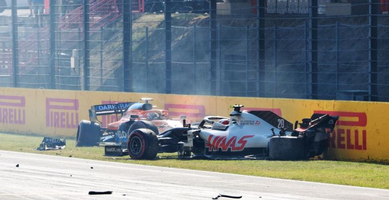 Palmer identifies three causes of the crash at the rolling restart at Mugello