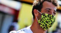 """Afbeelding: Ricciardo hoopte op onervarenheid Albon: """"Wilde druk op hem houden"""""""