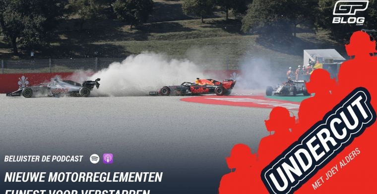 'Nieuwe motorreglementen funest voor Verstappen' | UNDERCUT F1 PODCAST