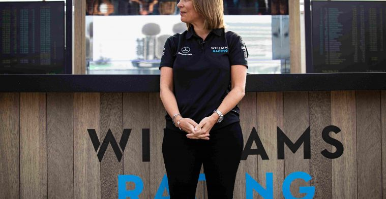 Interview Claire Williams: I have never had a normal family life.