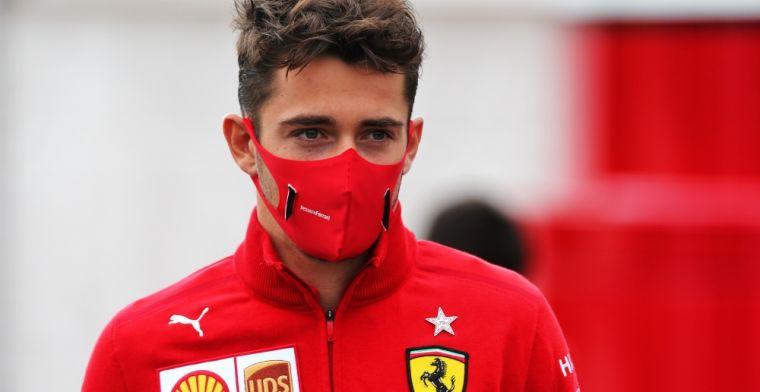 Alesi: Leclerc heeft geen recht om op te geven