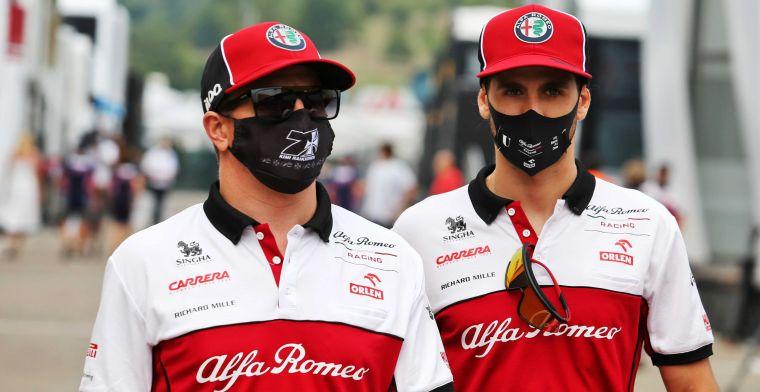 Genoeg keuze voor Alfa Romeo: ''Ik ga niemand vinden met meer ervaring dan Kimi''