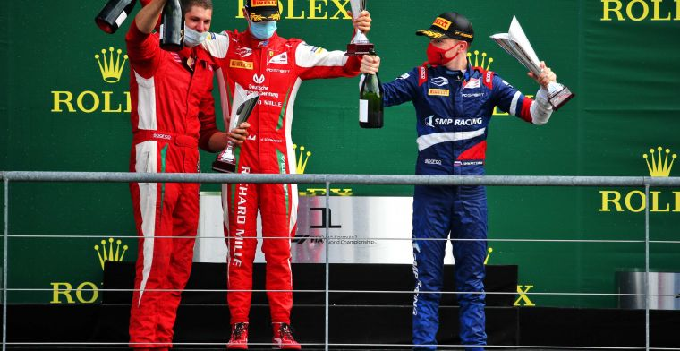 Schumacher sets the example for his competitors: Can learn a lot from him