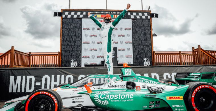 IndyCar driver on future: I'd love to give Formula 1 a crack