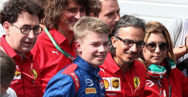 Ferrari management impressed with talent: He was of course very happy