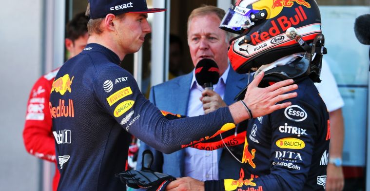 Verstappen: It really doesn't matter who drives next to me