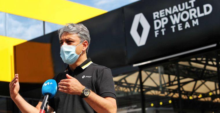 Renault CEO: We kijken naar verduurzaming in F1, maar we moeten veel zelf maken