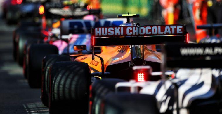 Gemiddelde rapportcijfers voor teams halverwege F1-seizoen 2020
