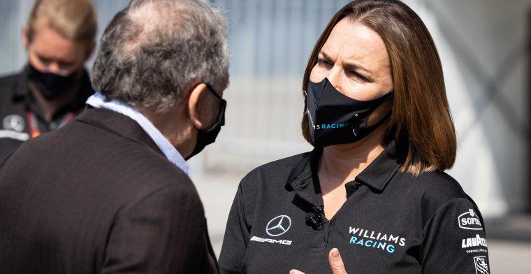 Williams: We willen het beste voor het team en de overname is de juiste stap