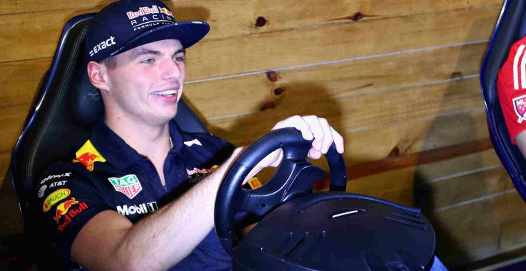 Verstappen misses podium due to technical problems in simrace