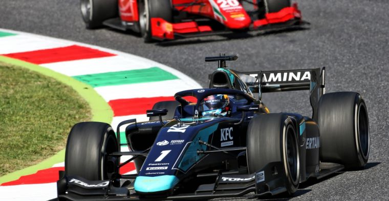 Red Bull-junior Vips also races in Formula 2 race Russia