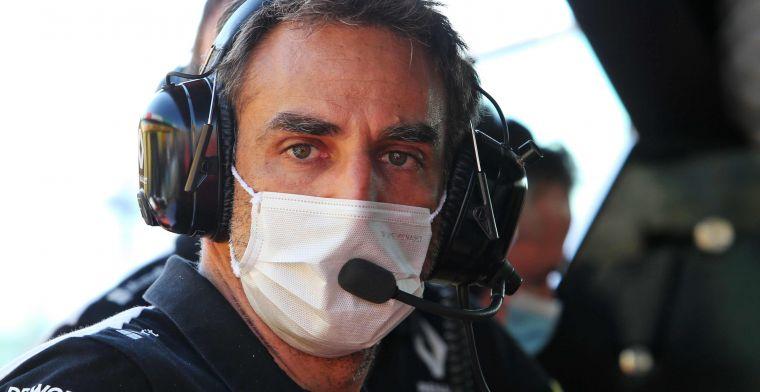 Abiteboul kritisch over zijn coureur: ''Hij moet realistische doelen stellen''