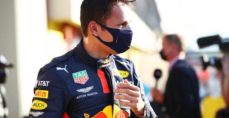 Albon nu verzekerd van Red Bull-zitje? ''Mooi om dit samen te vieren''
