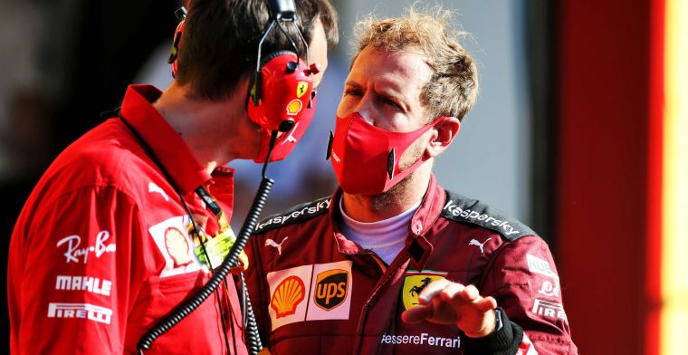 Is Vettel back up at Aston Martin? The Ferrari is now just like Schumacher''