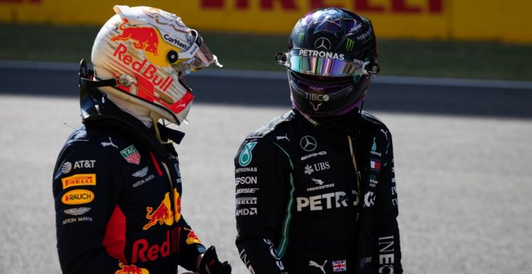 There's no match to Hamilton and Verstappen