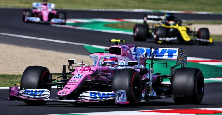 Team boss Racing Point: He has fully earned his place next to Vettel