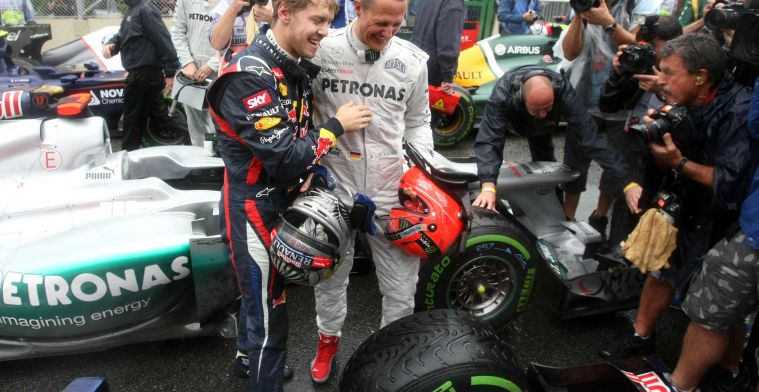 Vettel does not want to be compared to Schumacher: ''I'm just changing teams''