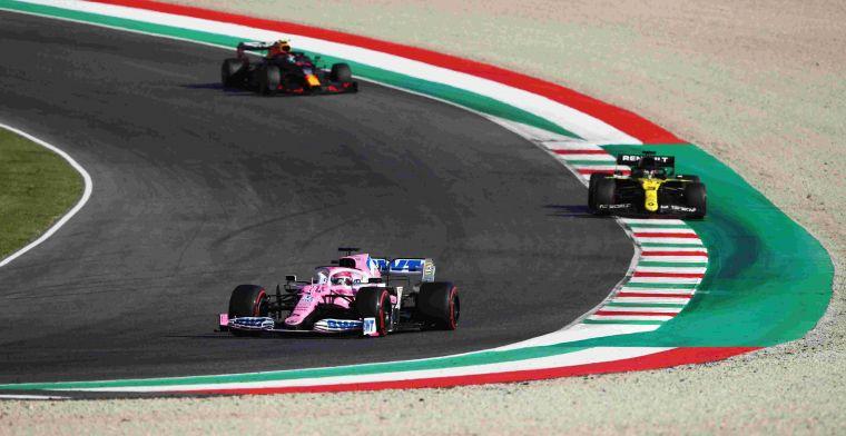 'Racing Point stapt af van roze livery; Stroll lijkt nieuwe kleur te verklappen'