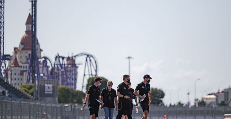 FIA warning in Sochi: We pay extra attention to turn two, twelve and thirteen