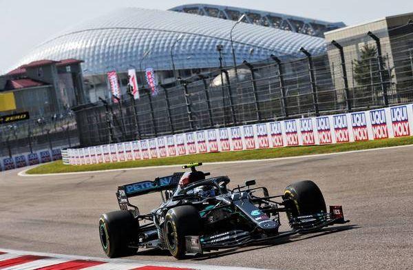BREAKING: Bottas P1 ahead of Hamilton in FP2 at Russian GP!