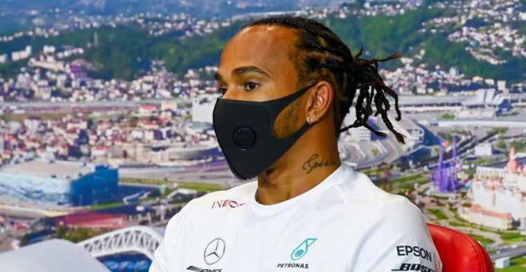 Hamilton: Honestly, don't think they could have chosen a better person