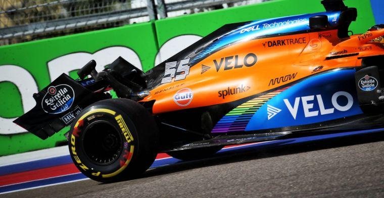 McLaren moest aan de bak na crash Sainz: Crew heeft fantastisch gewerkt