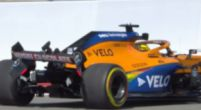Image: Sainz slides into the wall and provides the first Virtual Safety Car in Russia