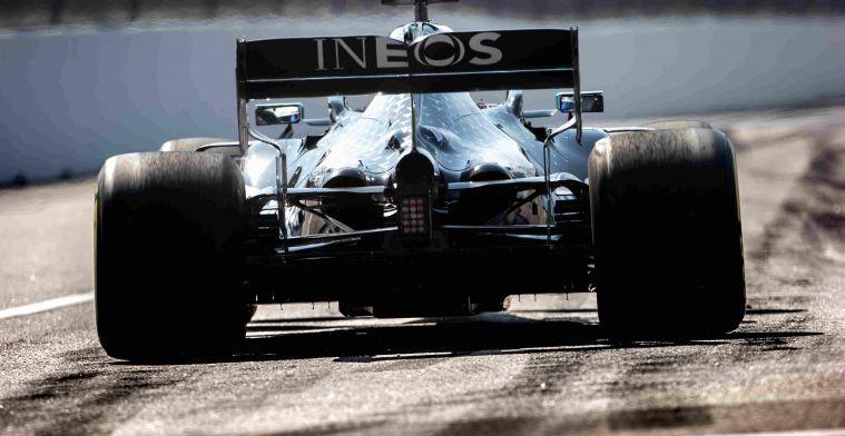 Live F1 | Hamilton ruim de snelste, Verstappen op P3