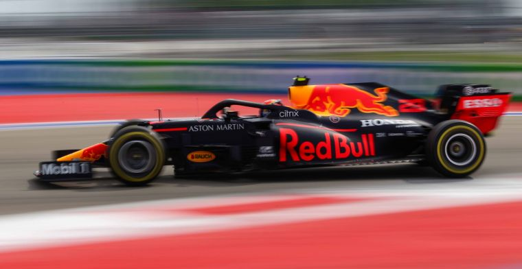 Albon after tenth place: My lap didn't feel very bad
