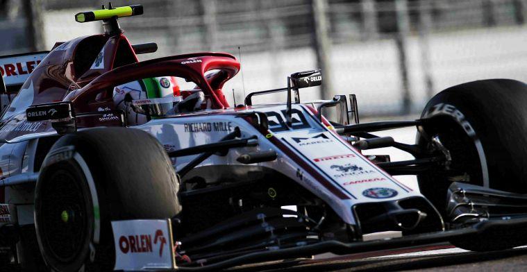 'Raikkonen verlengt contract bij Alfa Romeo, Schumacher maakt debuut in Duitsland'