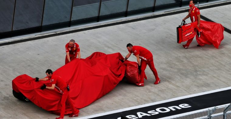 Vettel tried to make up time: I didn't have a good first sector