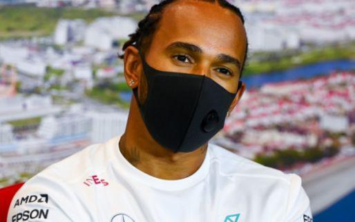 Update | Hamilton krijgt twee keer tijdstraf van vijf seconden van stewards