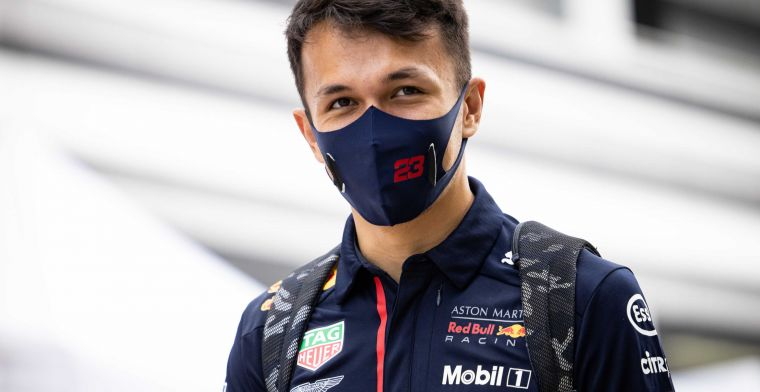 Albon sees Hamilton as an example: Someone to look up to