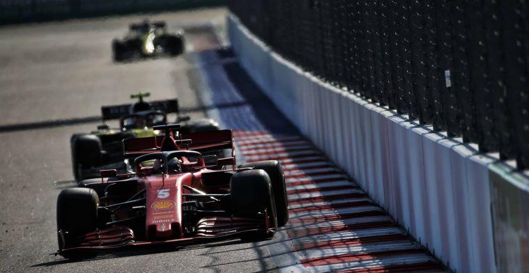 Vettel werd opgeofferd door Ferrari: Denk dat het duidelijk was