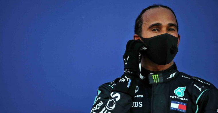 Remarkable: Mercedes gave Hamilton permission to make a punished practice start