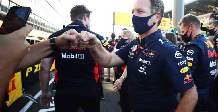 Horner explains his thoughts on Albon's 10th place finish in Russia
