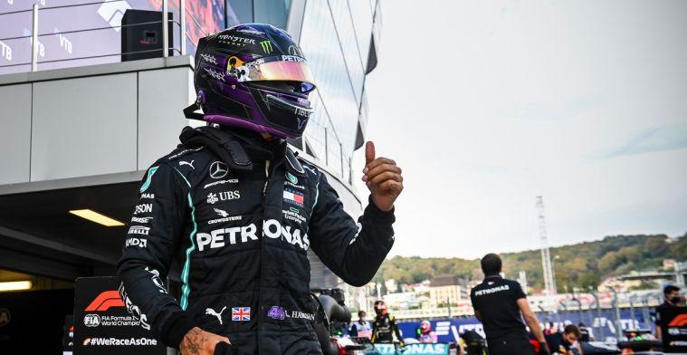 Hamilton wil niet reageren op dubbele tijdstraf: Het is al gebeurd