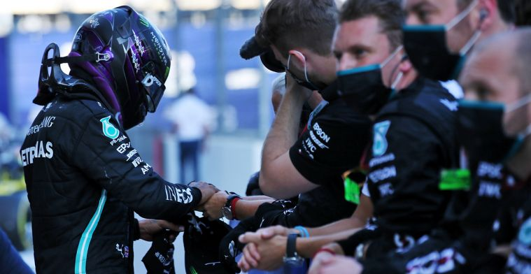 Hamilton and Bottas get beaten on the internet after GP Russia