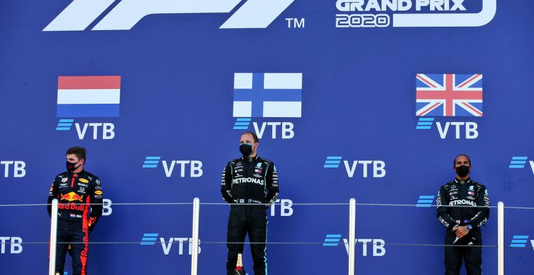 Opmerkelijke stand in het coureurskampioenschap na GP van Rusland