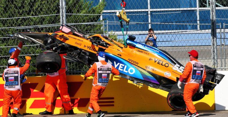 Sainz: You force drivers to drive very strange lines.