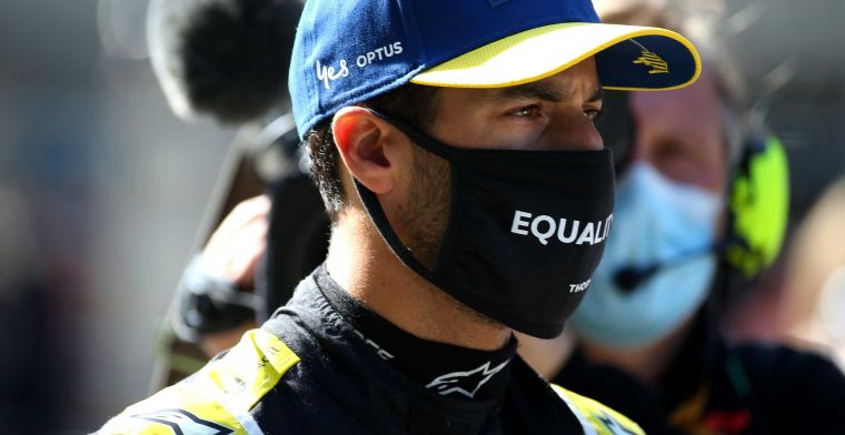 Ricciardo solves his own problems: I take full responsibility