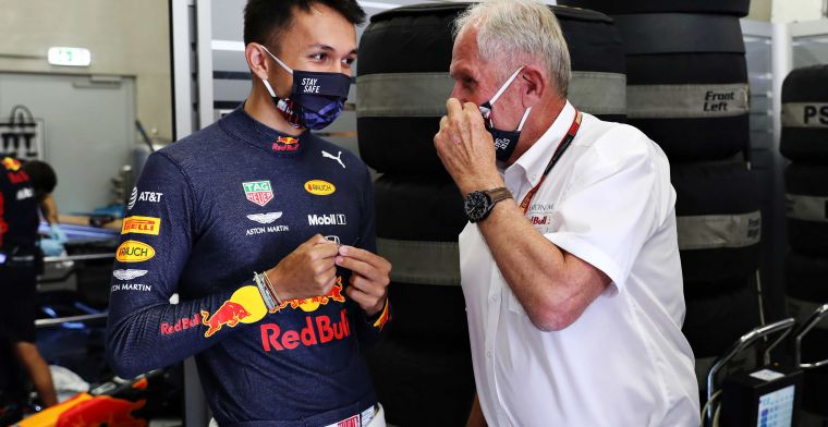 What should Red Bull do with Albon? Wonder how many more times he can do this