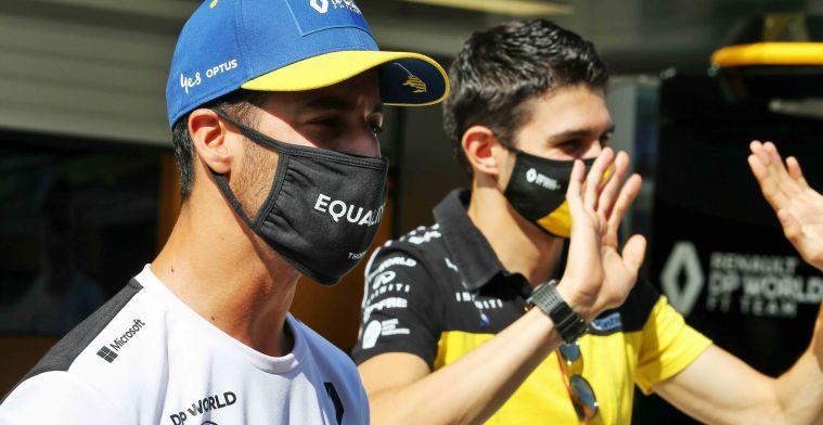 Ricciardo is making Ocon's comeback very difficult