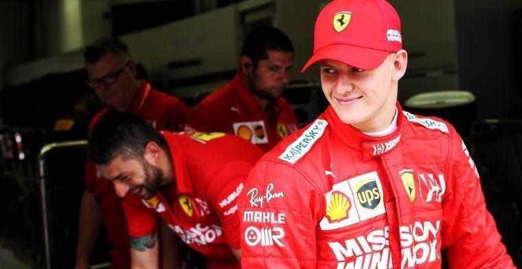 Mick Schumacher debuteert volgende week bij Alfa Romeo