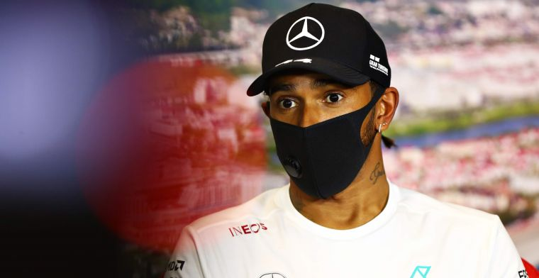 Irritation about Hamilton's reaction: ''Don't bring on that whining''