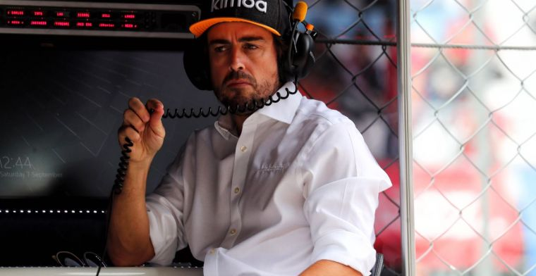 Alonso back in F1; Renault is working hard on a test program