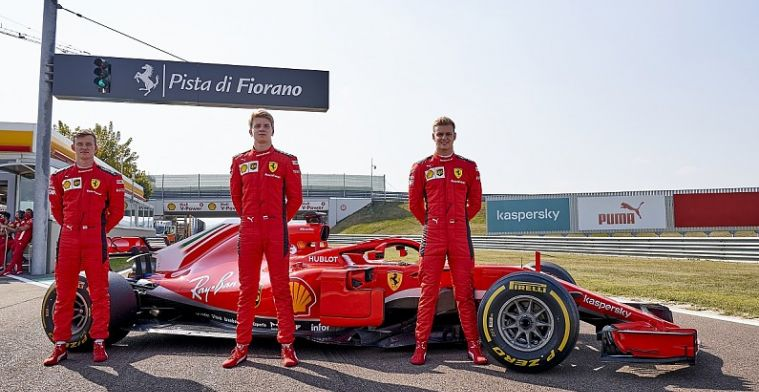 Three young drivers experience an 'unforgettable' day in a F1 car