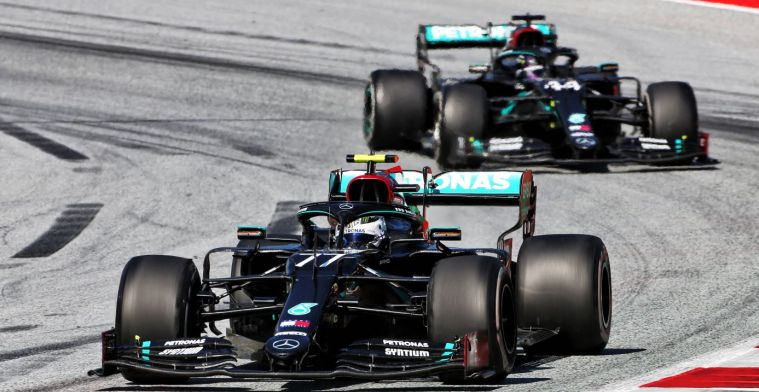 Mercedes can not always chase Red Bull: 'Then our car is not so quick'