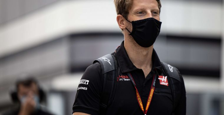 Grosjean seems to be able to pack his things: 'There are good teams there too'